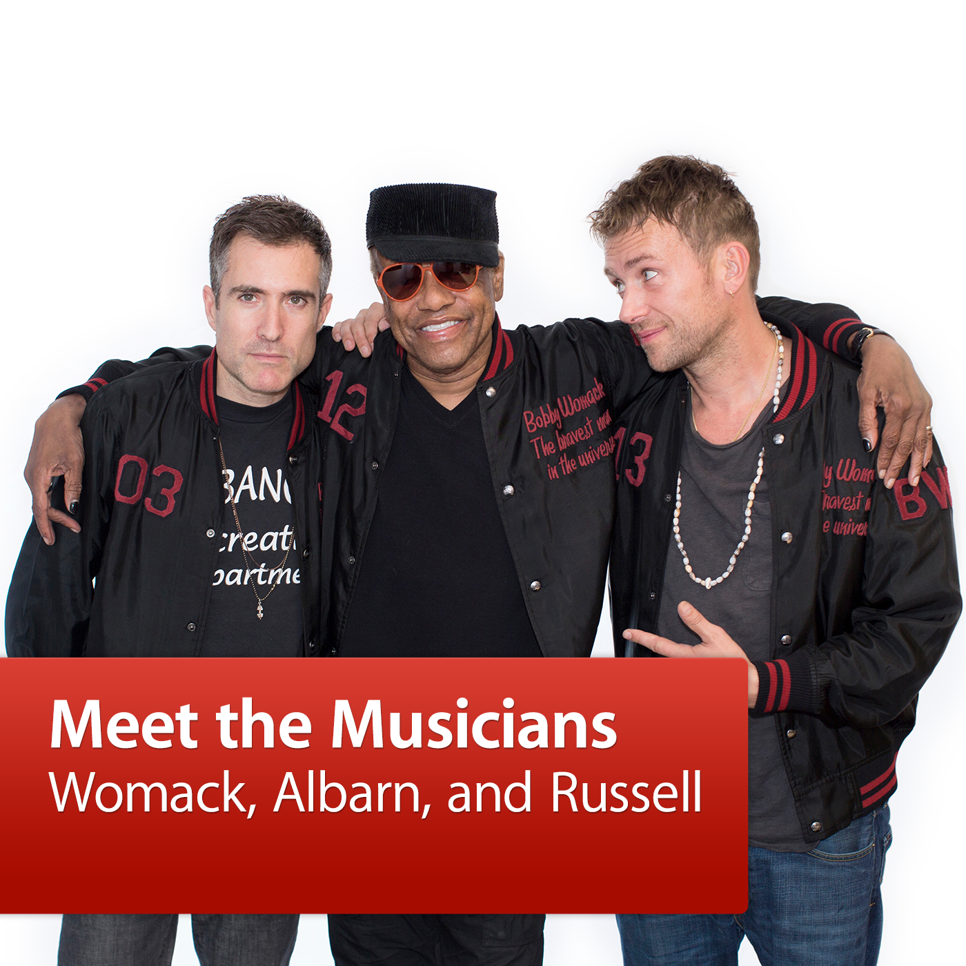 Womack, Albarn, and Russell: Meet the Musicians